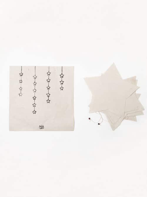 Tara Flags Lokta Paper Handmade Nepal Star