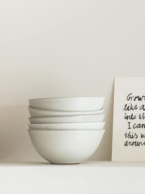 Soup Bowl Atelier Sukha Ceramics Black Clay