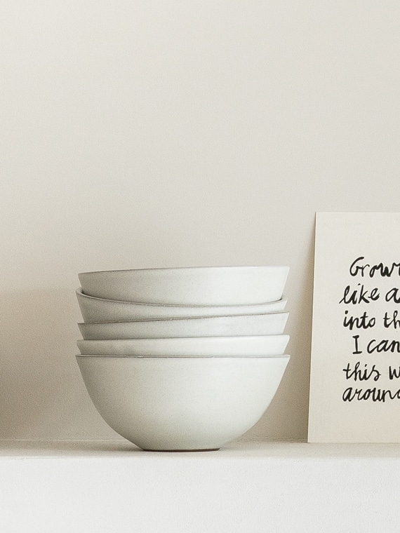 Soup Bowl Atelier Sukha Ceramics Black Clay