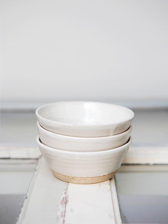 Bowl Off-White Atelier Sukha Keramiek Kantoor Ceramics