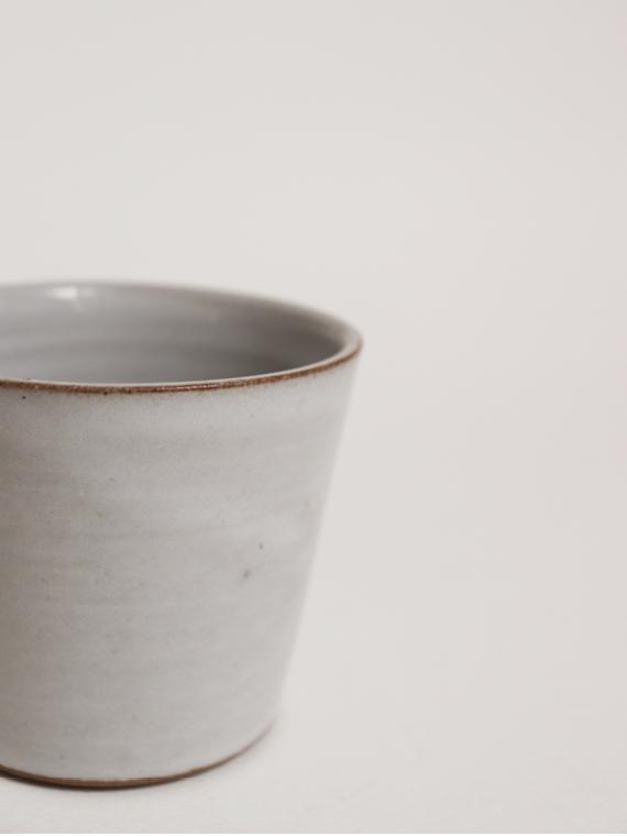 handmade ceramics fairtrade ceramics coffee cup river detail