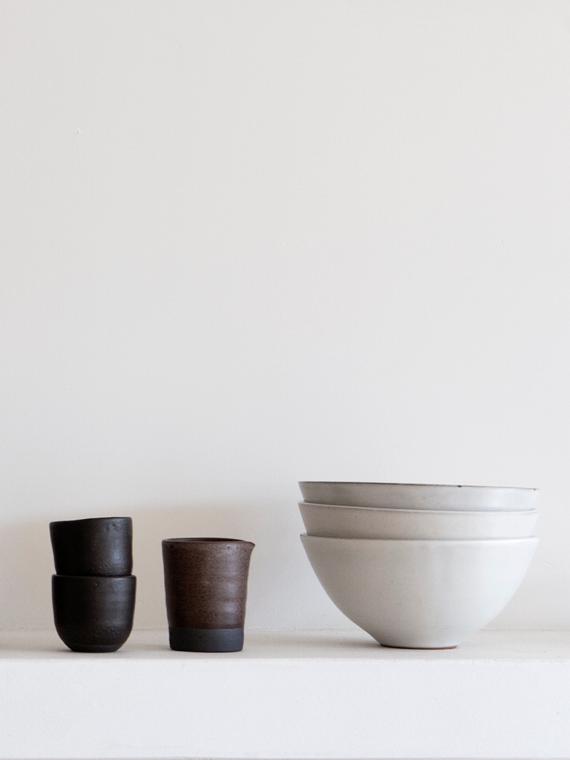 handmade ceramics fairtrade ceramics soup bowl pebble