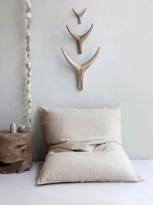 Organic Linen Cushion FANT Sukha