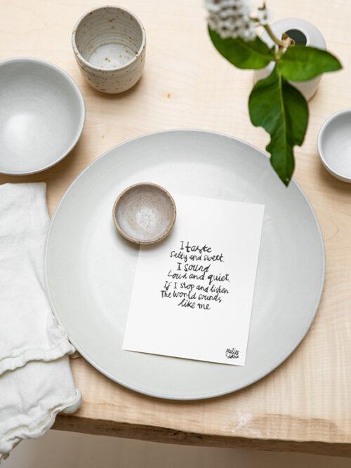 Handmade Ceramics Plates