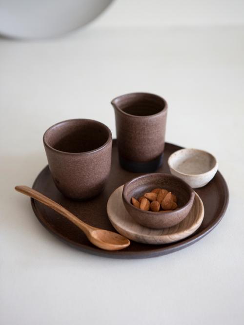 handmade ceramics amsterdam keramiek kantoor coffee cup brown