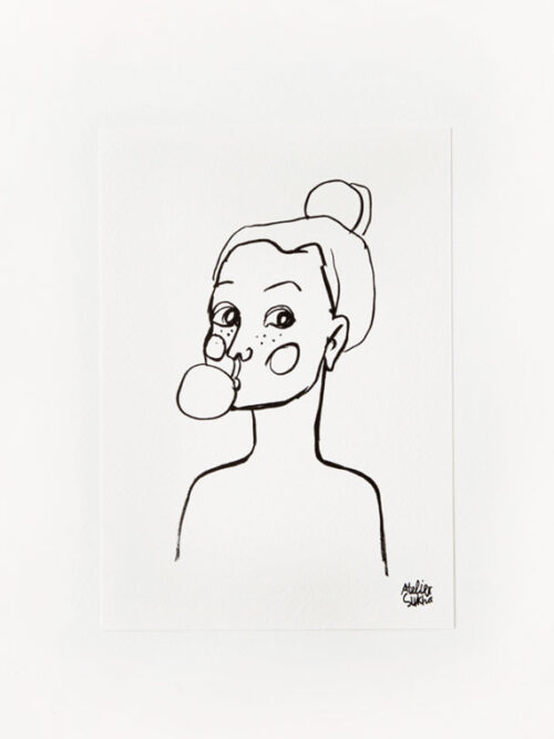Card Bubblegum New Atelier Sukha Barbara van den Berg