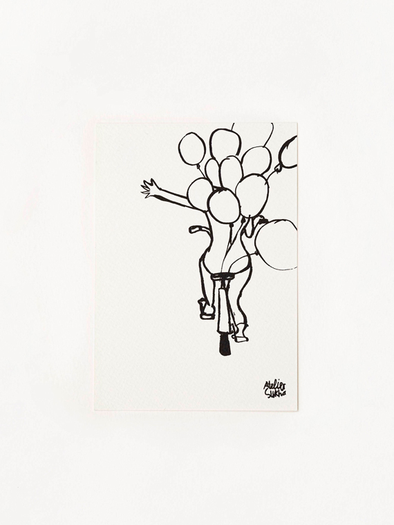 Card Celebrate New Atelier Sukha Barbara van den Berg