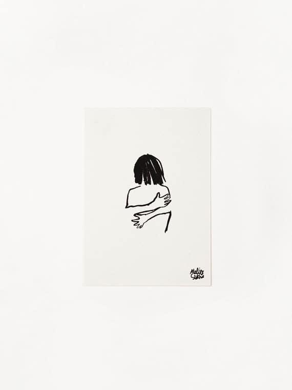 Card Hug New Atelier Sukha Barbara van den Berg