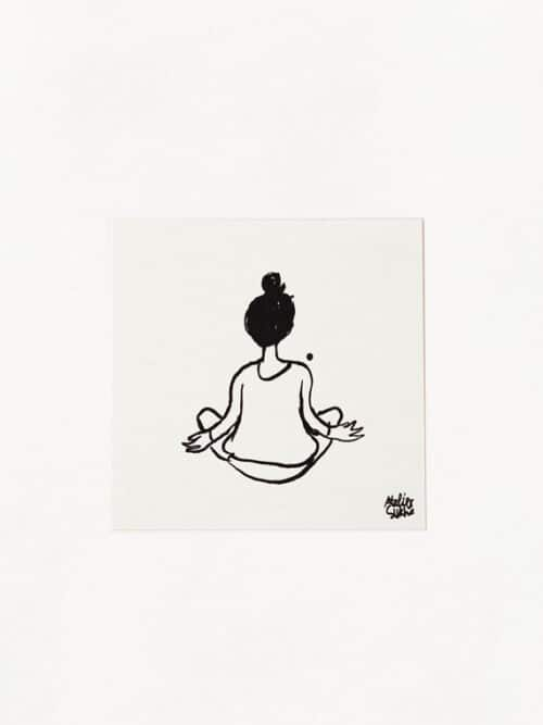 Card Inner Peace New Atelier Sukha Barbara van den Berg