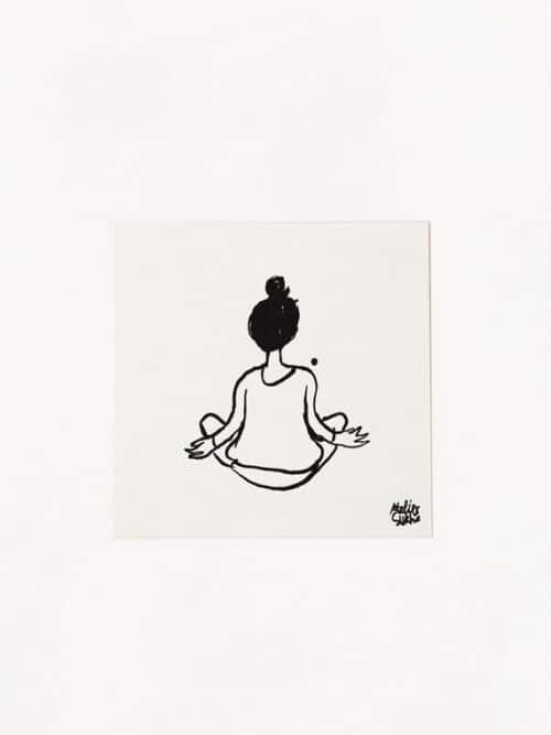 Card Inner Peace New Atelier Sukha Barbara van den Berg