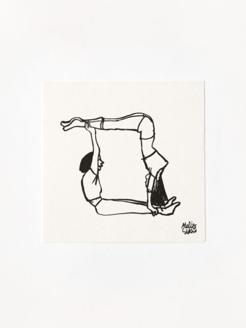 Card Balance Poem The World & I New Atelier Sukha Barbara van den Berg