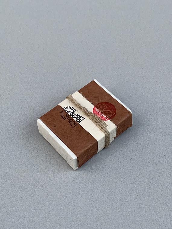 Vegan Essential Oil Soap Bar Incausa Incense Fairtrade Product Shot 2