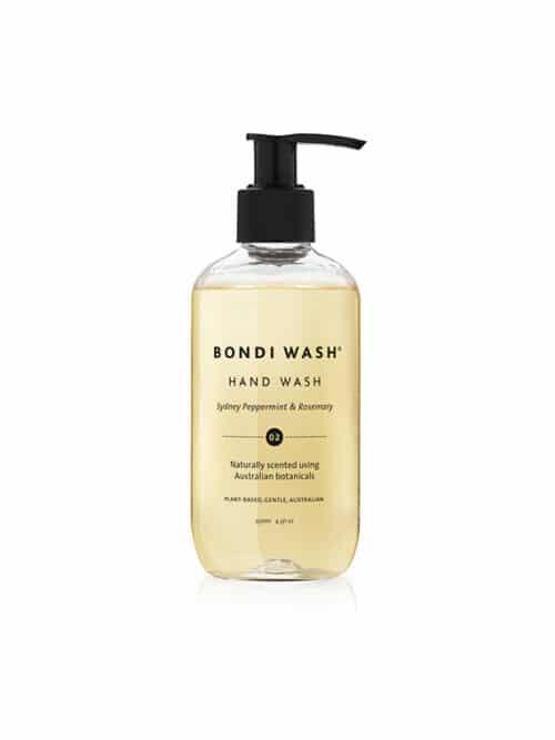 Bondi Wash Hand Wash Sydney Peppermint Rosemary Organic Certified Natural
