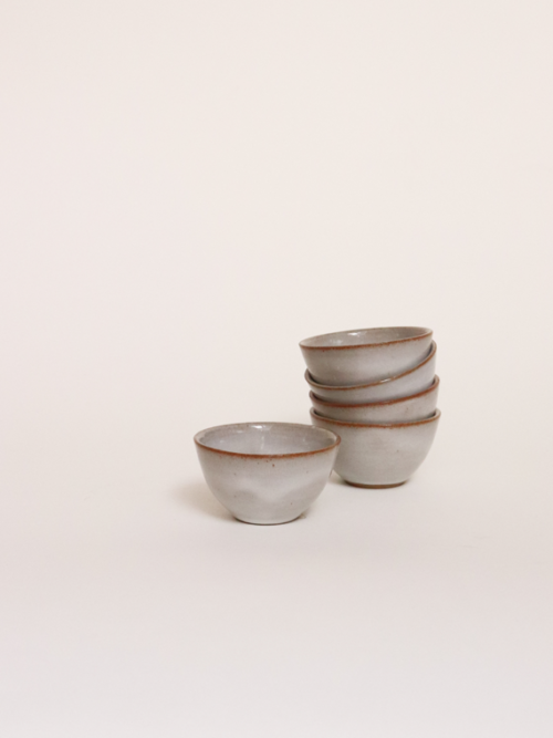 Handmade ceramics mini bowl river