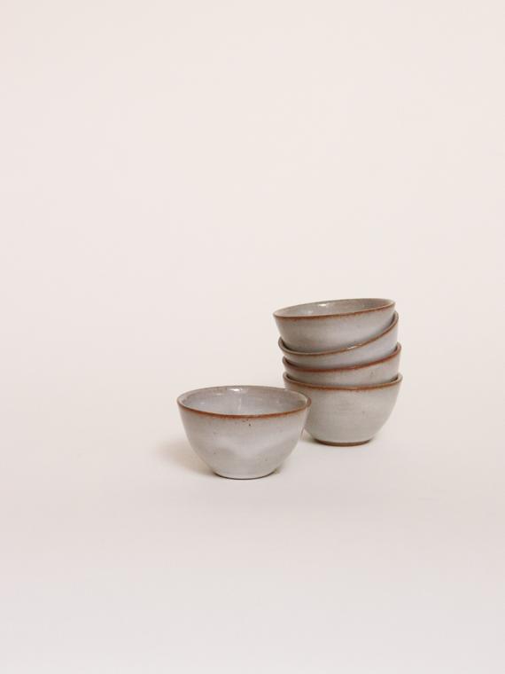 Handmade ceramics mini bowl river