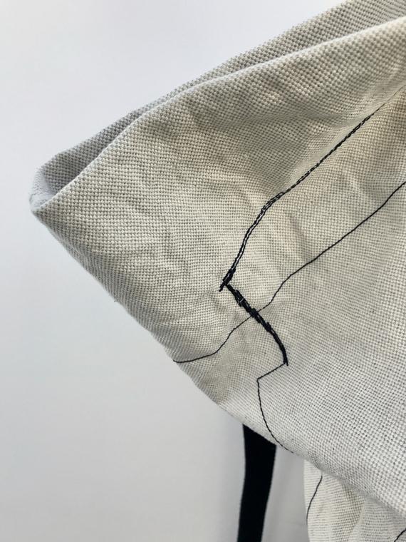 linen bag organic cotton FANT shop online detail