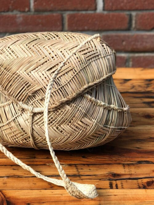 Incausa Xavantes People Carrying Basket Medium Product Shot Cover