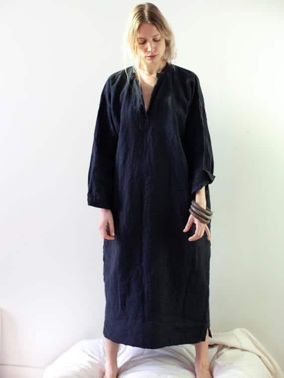Dress Free Night FANT Belgian Linen