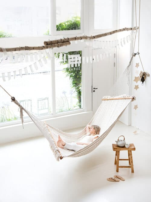 Hammock Chulto Hand Braided Made in Nepal Cotton