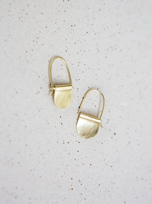 Eva Schreuder Simple Earrings Jewelry Minimalistic