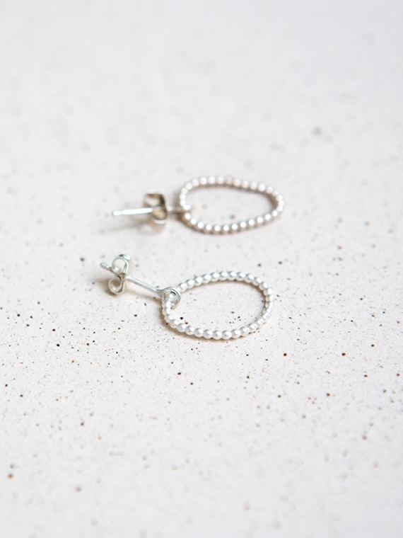 Petit Pois Eva Schreuder Earrings Silver