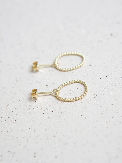 Petit Pois Eva Schreuder Earrings Gold