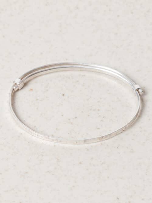 Tour de Phrase Bracelet Eva Schreuder Jewellery Silver