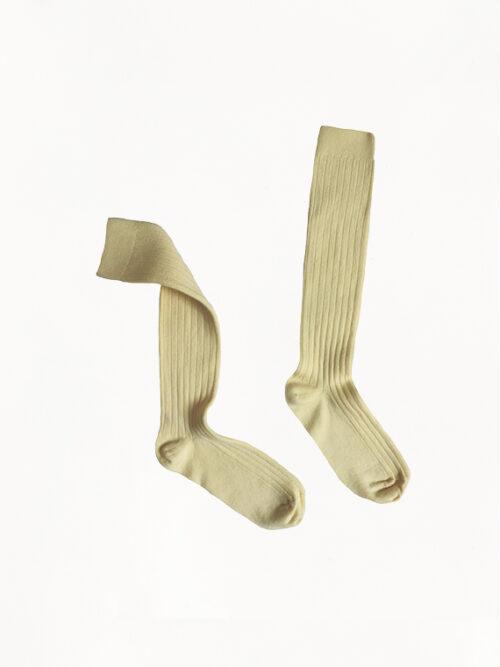 Collegien Socks Egyptian Cotton Vanilla
