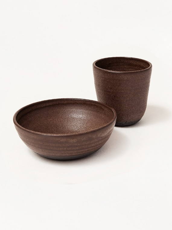 Bowl Cup Earth Keramiek Kantoor Handmade Product Shot
