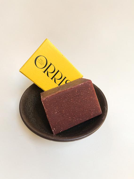 Orris Paris Organic Soap Handmade la Déesse Bowl Earth