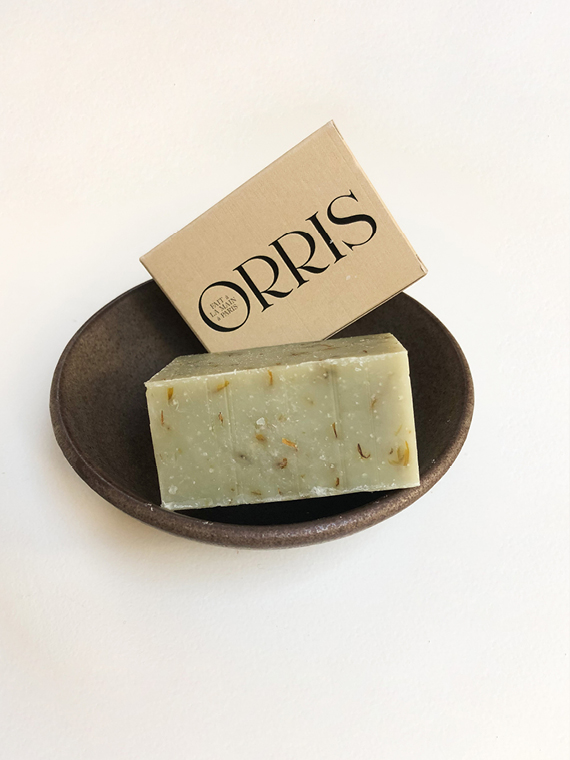 Orris Paris Organic Soap Handmade le Botaniste Bowl Earth