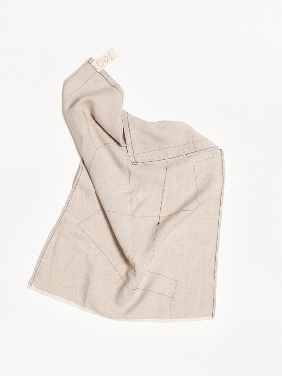 Linen Tea Towel Natural Home Sukha Mud