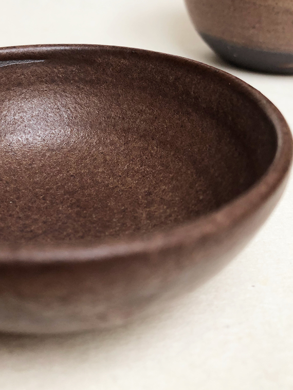 Handmade Ceramics Bowl Mini EARTH
