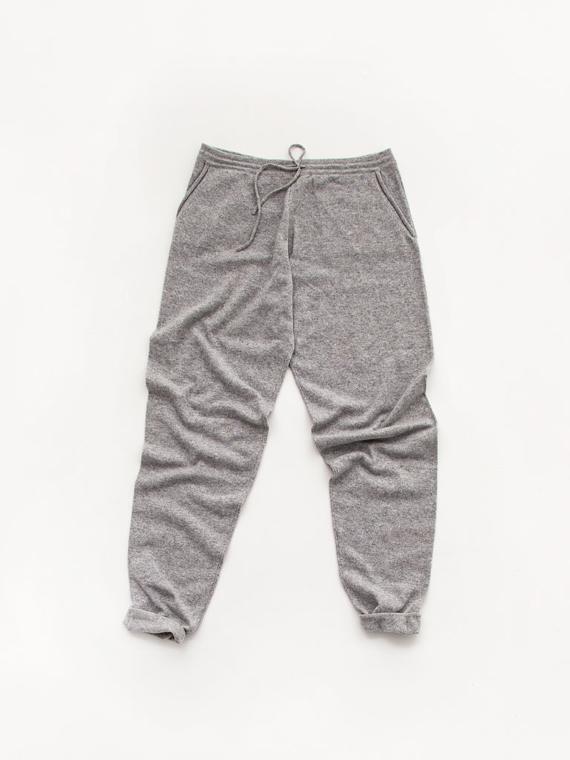 Cashmere Pants Atelier Sukha Woolen Pants Cashmere loungewear Salt