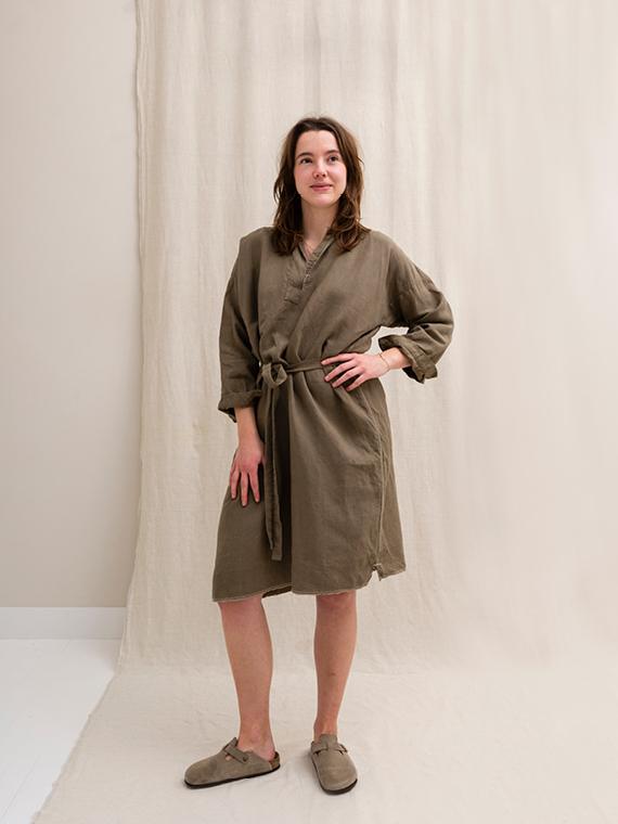 linen dress shop online FANT dress Free straight