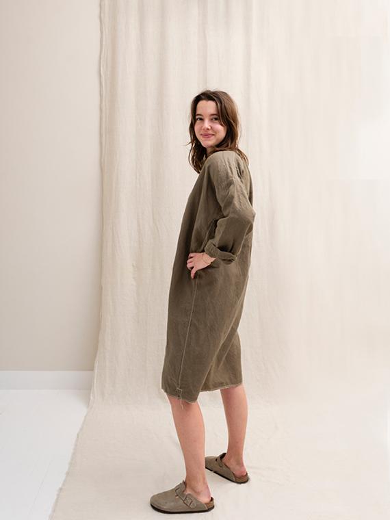 linen dress shop online FANT dress Free side