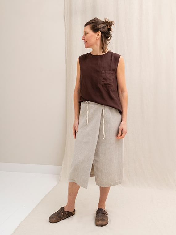 Pomandere shop online silk shirt blouse total look