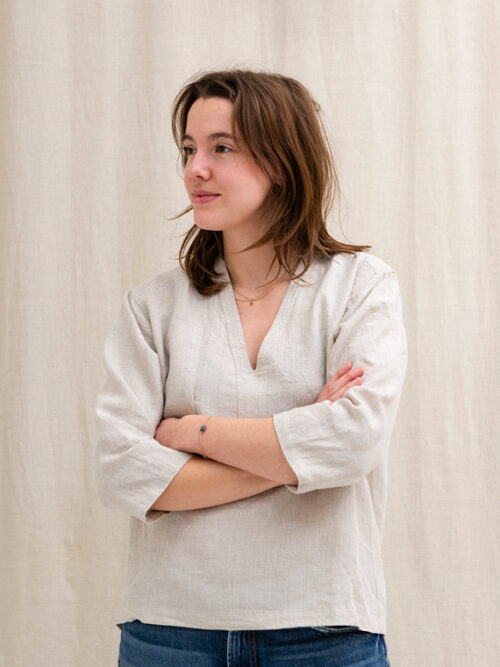 linen shirt shop online fant Sukha Jackie