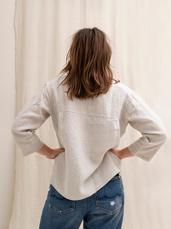 linen shirt shop online fant Sukha Jackie back