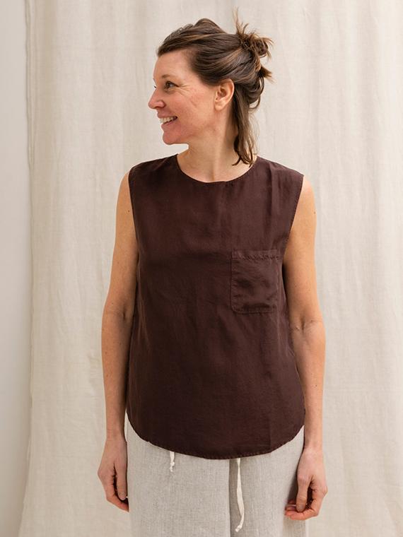 Pomandere shop online silk shirt blouse front