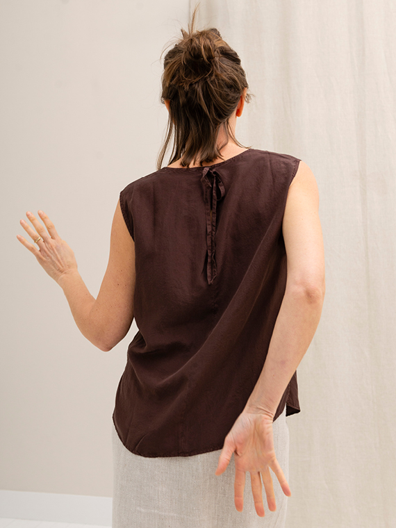 Pomandere shop online silk shirt blouse