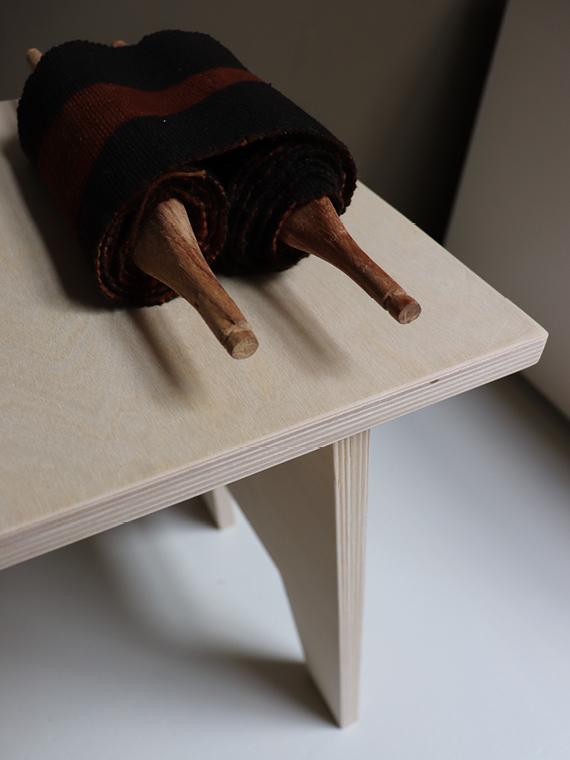 Woodchuck Shop Online Haru Stool Handmade Stool Detail
