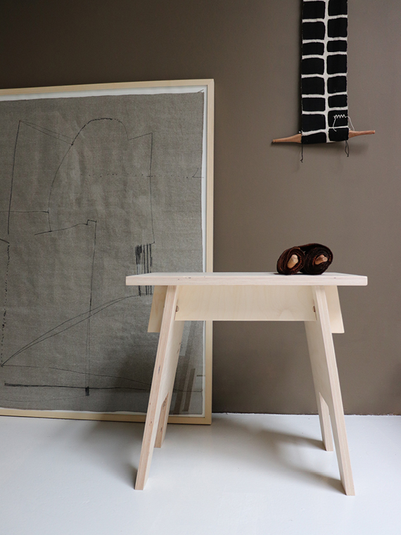 Woodchuck Shop Online Haru Stool Handmade Stool