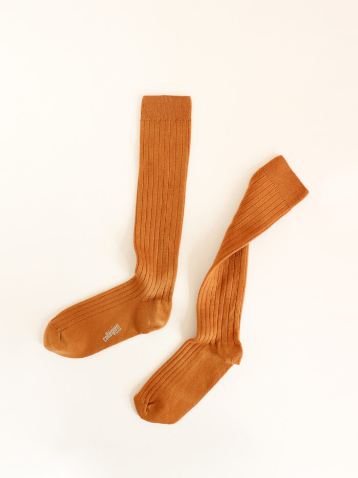 organic cotton socks collegien socks Moutarde de Dijon