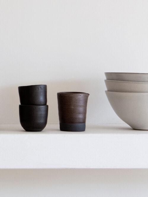 milk jug handmade ceramics amsterdam keramiek kantoor