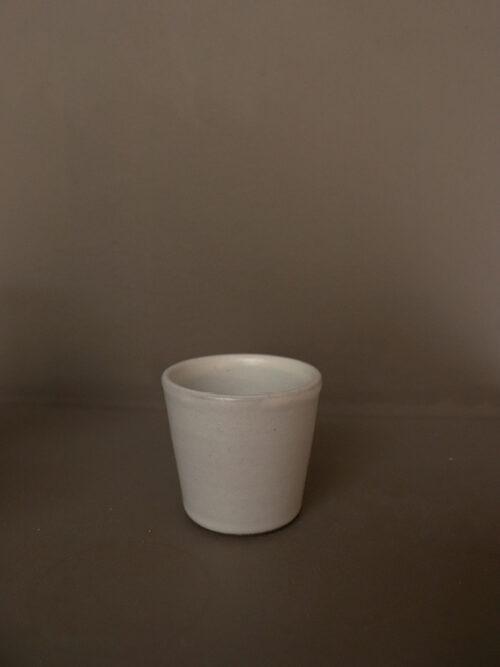 handmade espresso cup pebble