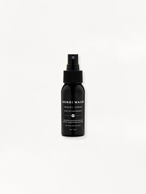 Bondi Wash shop online travel spray packshot