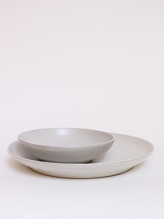 handmade ceramics fairtrade ceramics serving plate xl pebble sukha ceramics