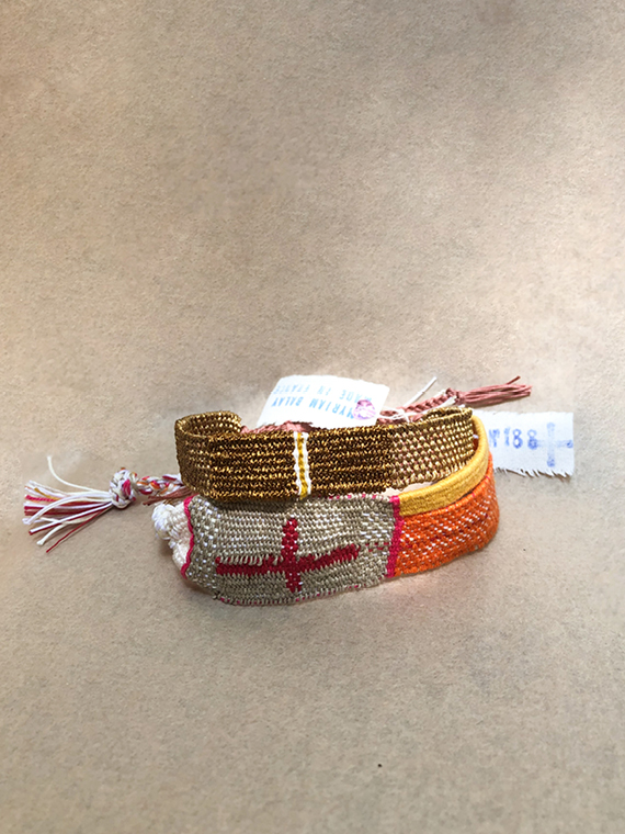 Bracelet LOOM N°139 handmade bracelet Myriam Balay Made in France 2