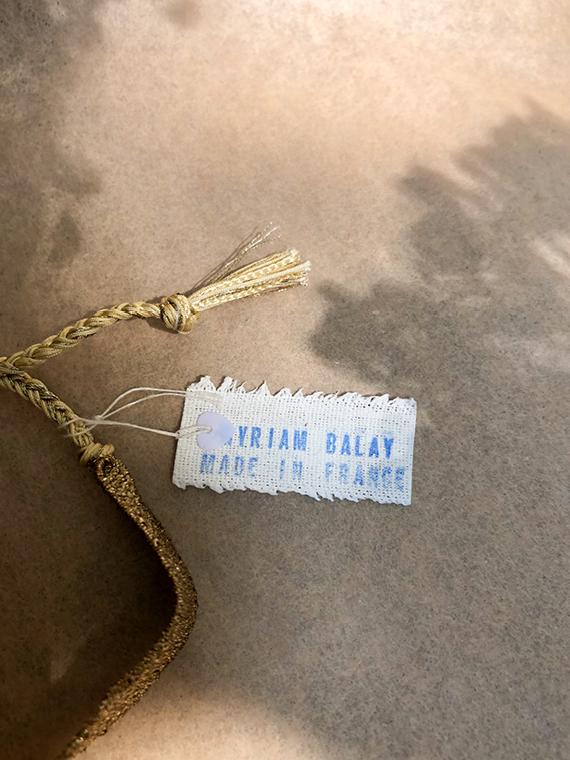 Bracelet LOOM N°166 handmade bracelet Myriam Balay Made in France detail